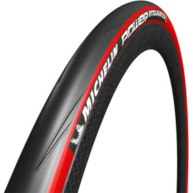 "Michelin Power Endurance Foldedæk 28"", red"